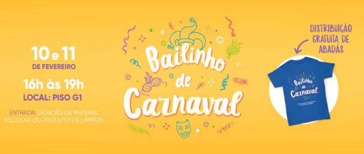 Floripa Shopping promove Bailinho de Carnaval Infantil