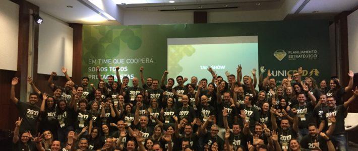 Unicred SC/PR reúne colaboradores em Foz do Iguaçu