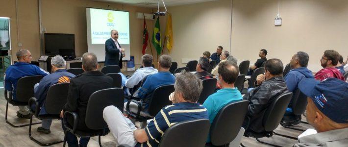 CELOS inicia percorrida por Santa Catarina e divulga Portal da Transparência