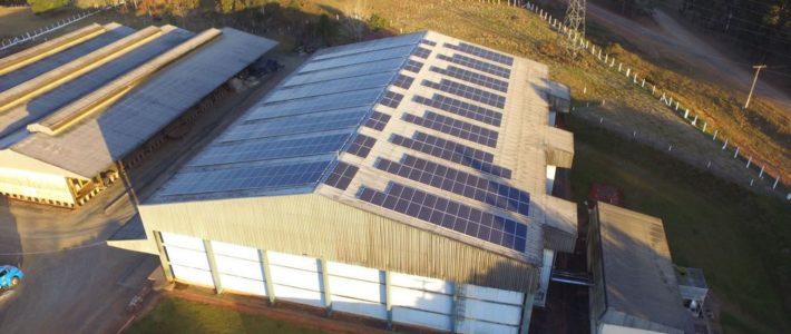 Empresas catarinenses adotam sistema de energia solar
